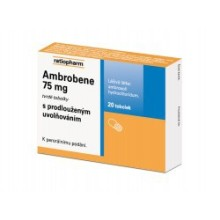 AMBROBENE 75 MG POR CPS PRO 20X75MG