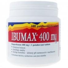 IBUMAX 400 MG POR TBL FLM 100X400MG