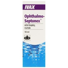 OPHTHALMO-SEPTONEX OPH GTT SOL 1X10ML PLAST