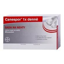 CANESPOR 1X DENNĚ SADA NA NEHTY DRM UNG UGC 10GM+SADA
