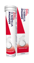 ADDITIVA VITAMIN C BLUTORANGE 1000MG TBL EFF 20
