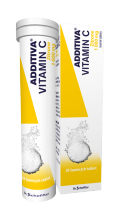ADDITIVA VITAMIN C ZITRONE POR TBL EFF 20X1GM
