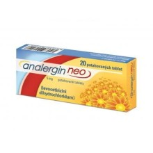 ANALERGIN NEO 5MG TBL FLM 20 II