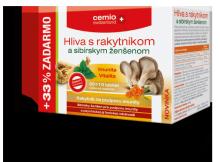 Cemio Hlíva s rakyt.a sib.ženšenem tbl.30+10 CZ/SK