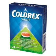 COLDREX 500MG/25MG/5MG/20MG/30MG TBL NOB 24