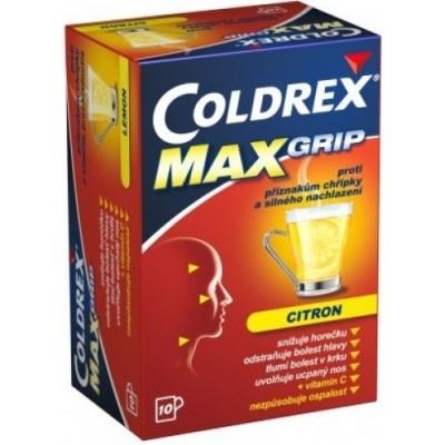 Coldrex-Max-Grip-citron-10-sáčků