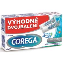 Corega bez příchuti Extra silný DUOPACK 2x40g