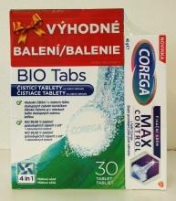 Corega Vánoční balení Max Control 40g+tablety 30ks