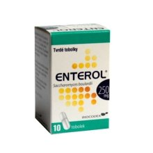 ENTEROL POR CPS DUR 10X250MG