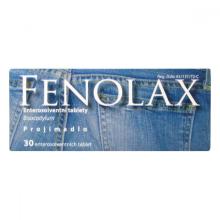 FENOLAX POR TBL ENT 30X5MG