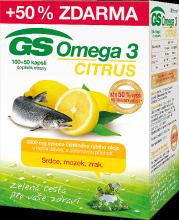 Gs-Omega-3-citrus-100-+-50-dárek-KHL