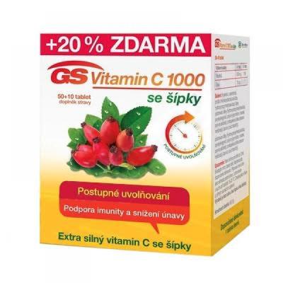 GS-Vitamin-C-1000-mg-50-+-10-tbl-KHL