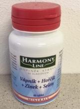 Harmony Line-Vápník+Hořčík+Zinek+Selen tbl.60