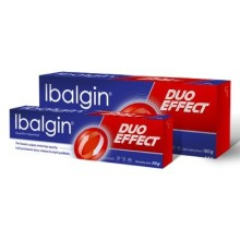 IBALGIN DUO EFFECT 50MG/G+2MG/G CRM 100G