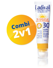 LADIVAL OF30 lot.norm.cit.Kombi krém+tyč.30ml/3.2g
