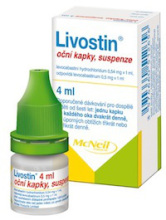 LIVOSTIN OPH GTT SUS 4ML/2MG