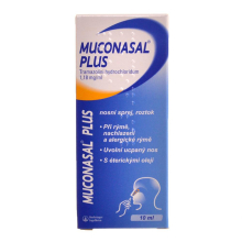 MUCONASAL PLUS 1,18MG/ML NAS SPR SOL 1X10ML