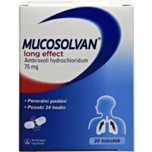 MUCOSOLVAN LONG EFFECT 75MG CPS PRO 20