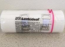 Obin. elast.Lenkideal krátký tah 8cmx5m/1ks 14582