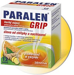 Paralen-grip-horký-nápoj-pomeranč-KHL