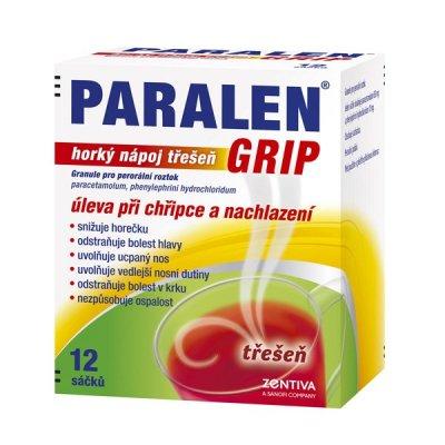 Paralen-Grip-třešeň-12-sáčků-KHL