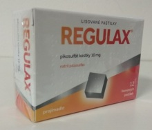 REGULAX PIKOSULFÁT KOSTKY 10 MG ORM PAS CMP 12X10MG