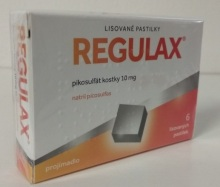 REGULAX PIKOSULFÁT KOSTKY 10 MG ORM PAS CMP 6X10MG