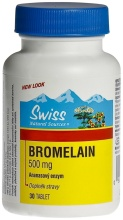 Swiss BROMELAIN 500mg tbl.30