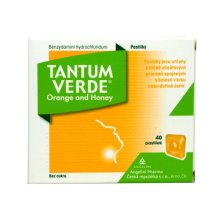 TANTUM VERDE ORANGE AND HONEY 3MG PAS 40