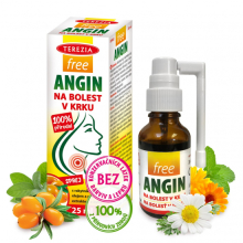 TEREZIA FreeAngin spray na bolest v krku 25ml