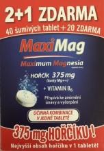 Zdrovit Hořčík+B6 šum.tablety 2+1 zdarma tbl.3x20