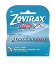 ZOVIRAX DUO 50MG/G+10MG/G CRM 1X2G II